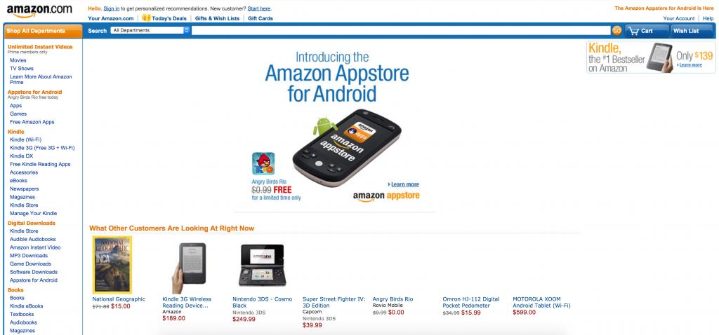 Amazon.com 1999