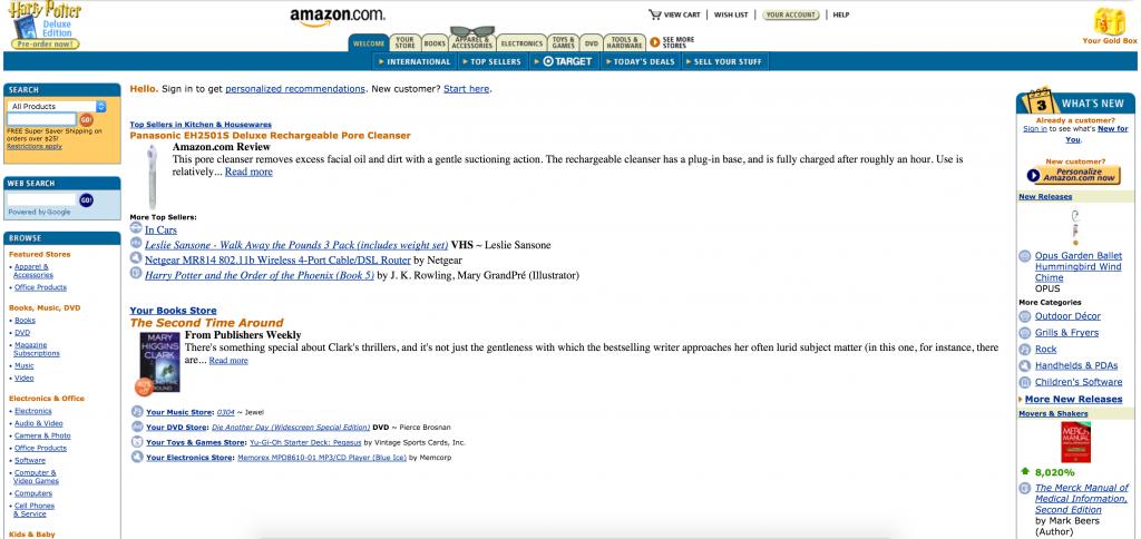 Amazon.com - 2003